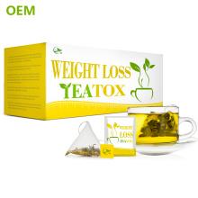 Chá Verde Fino China Corpo Rápido Fácil Slim Chá / OEM Queimador de Gordura Da Natureza Lotus Emagrecimento Chá