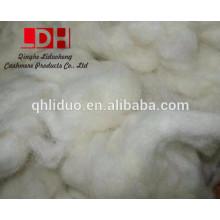 Fibre de déchets de laine chinoise blanche