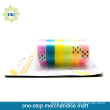 6PCS stationery tapes