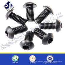 China Supplier Grade 4.8/8.8/10.9/12.9 Black Button Head Screws