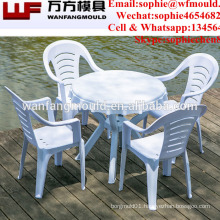 Factory price high quality plastic table&chair mould/Different kinds of wholesale outdoor furniture led table mould