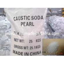 Pérolas de soda cáustica de alta qualidade com inspeção SGS (NaOH 99%)