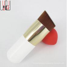 High Quality Gold Ferrule White Wood Cosmetic Bb Cream Foundation Brush