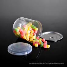 Haustier-Plastiknahrungsmittel-Speicherglas mit Aluminium-Easy-Open-Deckel (PPC-CSRN-023)