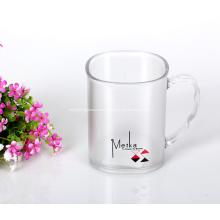 Tasses transparentes légères pour le thé au café