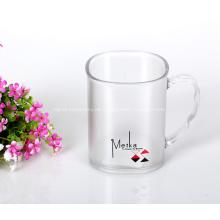 Leichte transparente Tassen für Kaffee Tee