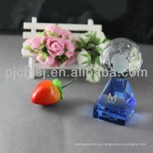 Fuente de la fábrica precio atractivo delicado mejor trofeo de cristal y premio