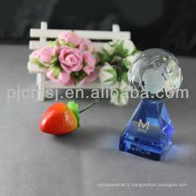 Approvisionnement d'usine prix attractif délicat meilleur trophée de cristal et prix