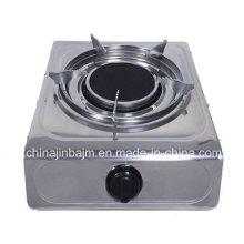Poêle à gaz infrarouge simple de 135 # avec triple électrode