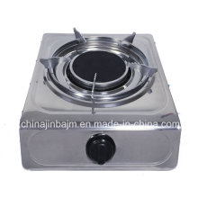 Single 135#Infrared Gas Stove with Electroplate Trivet