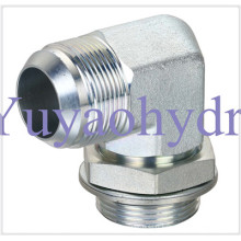 Raccords hydrauliques avec connecteur de tube évasé Jic 37 Deg (Saej514)