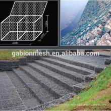 Cajas de gavión de alta calidad / cestas / proveedor de anping de malla de alambre hexagona