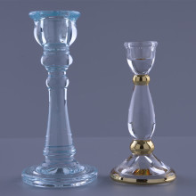 handbemalte Glaskerzenhalter