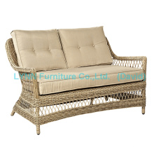 Gartenmöbel Wicker Love Seat Circle Rattan Sofa