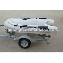small rigid fiberglss hull RIB270 boat with CE
