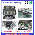 High power DMX 96pcs 10w 4 in 1 high lumen led outdoor flood light