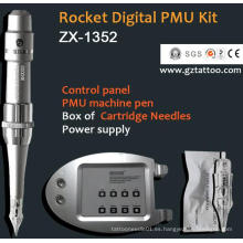 Digital Panel de control profesional tatuaje maquillaje permanente de la máquina digital (zx1352)