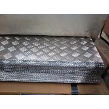 5052 4mm Aluminium karierte Platte