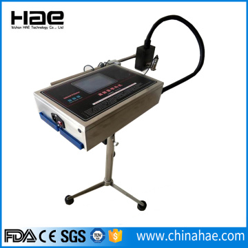 Inkjet coding machine for steel pipes