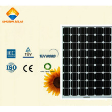125W-150W poderoso de alta estabilidad Mono silicio panel solar