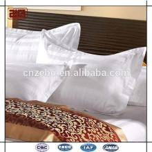 Alta qualidade da fábrica feita 100% algodão 3CM Stripe Hotel Pillow Case