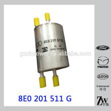 Peças genuínas 4 Bar Filtro de Combustível para AUDI A4 8E0201511G, 8E0 201 511 G