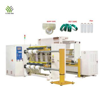 Automatic BOPP/PET/PVC Film Slitting Rewinding Machine