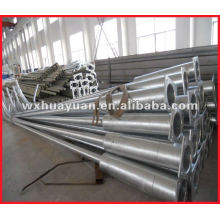 Zinc - coated steel tube