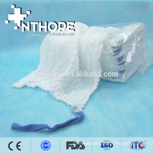 Pre-washed sterile cotton gauze lap sponge for wound care