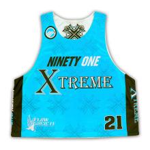Leichtes Lacrosse Pinnies Voll Sublimation / Hochwertige Lacrosse Sublimierte Trikots