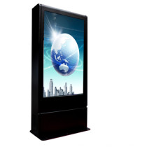 Pantalla LCD para exteriores 55 pulgadas Pantalla de publicidad 2000nits 3G