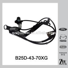 Coche delantero derecho ABS Sensor de velocidad de la rueda Para Mazda Premacy 323 BJ B25D-43-70XG B25D-43-70XE B25D-43-70XF B25D4370XF B25D4370XG