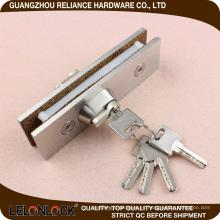 Montaje de parche de puerta de montaje de pared de puerta de vidrio con cilindro, GCA-31