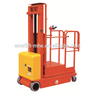2.7m 3.3m 4m 4.5m Full electric order picker for 2017 hot sale
