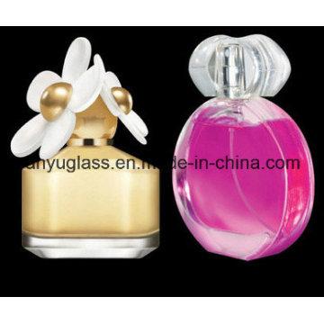Bouteille de parfum en verre avec pompe 30 ml, 50 ml