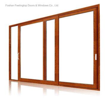 Алюминиевая дверь Патио с двойным остеклением (фут-Д120)