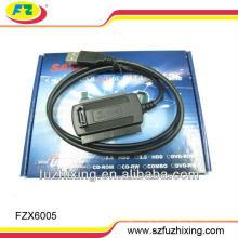 USB2.0 bis 2.5 / 3.5 SATA & IDE Konverter Kabel