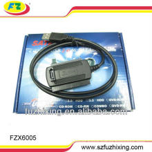 USB2.0 to 2.5/3.5 SATA&IDE Converter Cable
