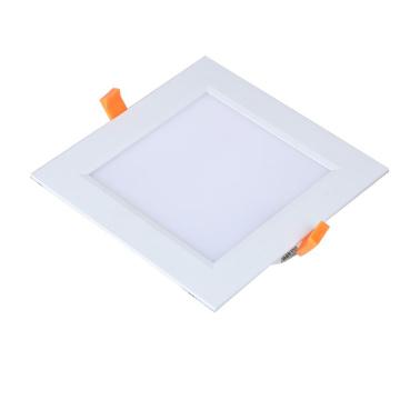 A superfície branca morna da venda quente montou a forma redonda 3w 6w 12w 18w encastrado conduziu a luz de painel