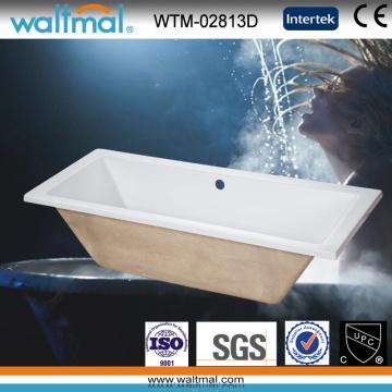 Cupc Simple Drop-in Bathtub (WTM-02813D)