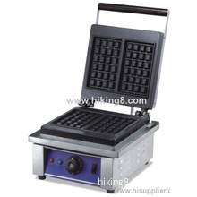 1 Plate Square Shape Commercial Waffle Maker