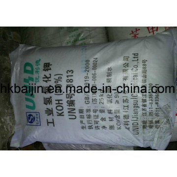 White flake Potassium Hydroxide KOH 90%