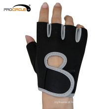 Luvas antiderrapantes do dedo médio da alta qualidade do GYM