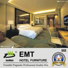 2016 Modernes Glas Headboard & Modern Design Hotel Schlafzimmermöbel (EMT-A1203)