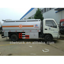 Foton mini petroleum machinery 6000litres oil transport truck