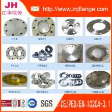 ANSI / JIS / En1092-1 / DIN / GOST / BS4504 / Bridas / brida de gas / brida de aceite / racor de tubería