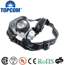 white 18+2 led headlamp for rock climbing