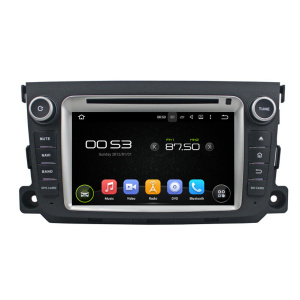 Car Multimedia System DVD Player For Benz SMART
