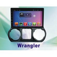 Автомобильный DVD-плеер Android System 5.1 для сенсорного экрана Wrangler с навигацией и GPS