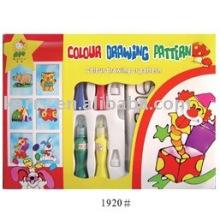 Zeichnungsmuster Set (Salbenfarbe) / Geschenkset für Kinder